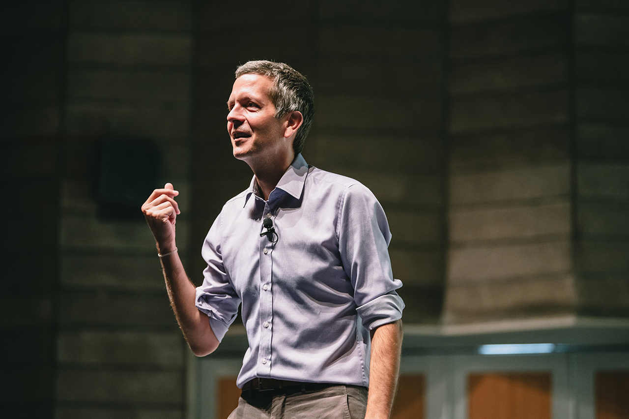 Frederic Laloux, speaking with purpose