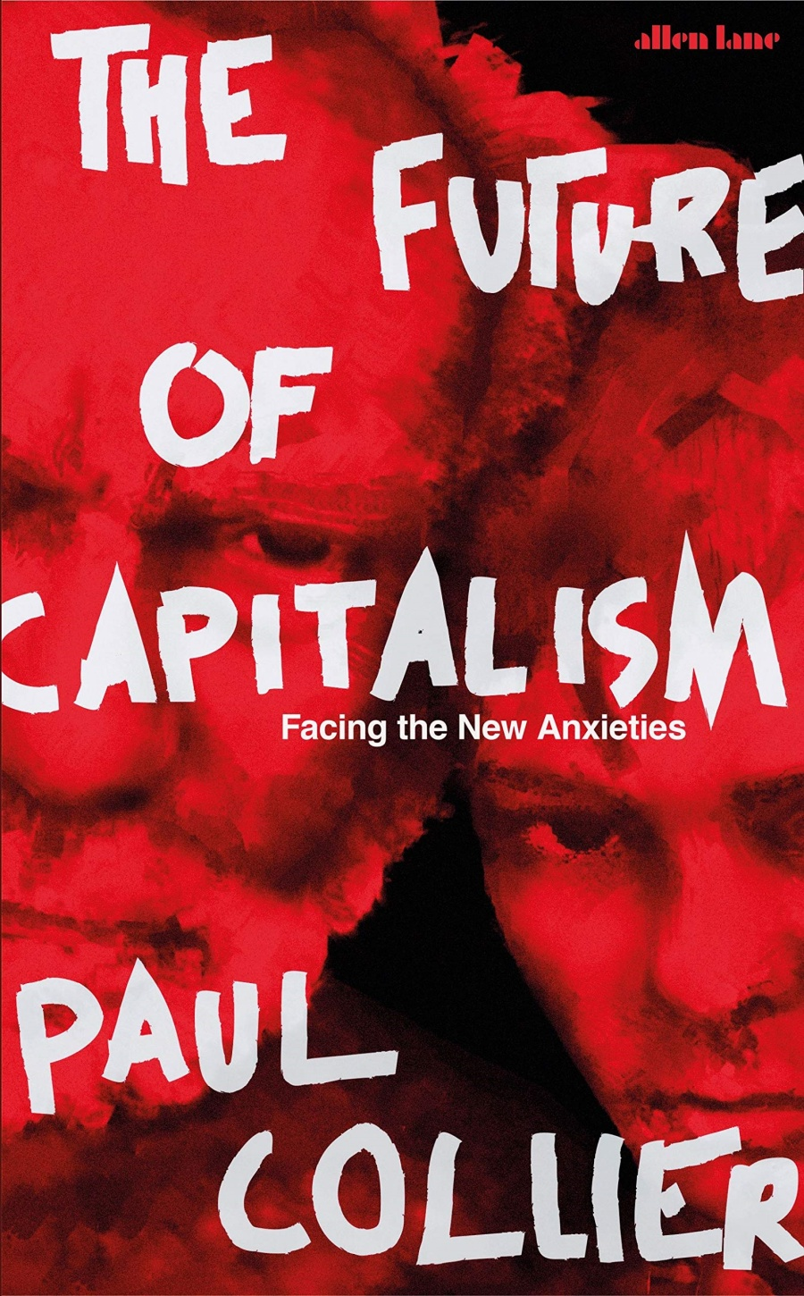 The cover of Professor Collier's book, The Future of Capitalism