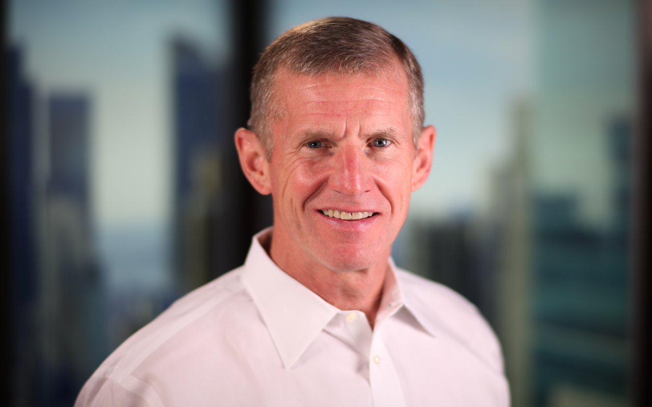 Close-up photograph of General Stanley McChrystal