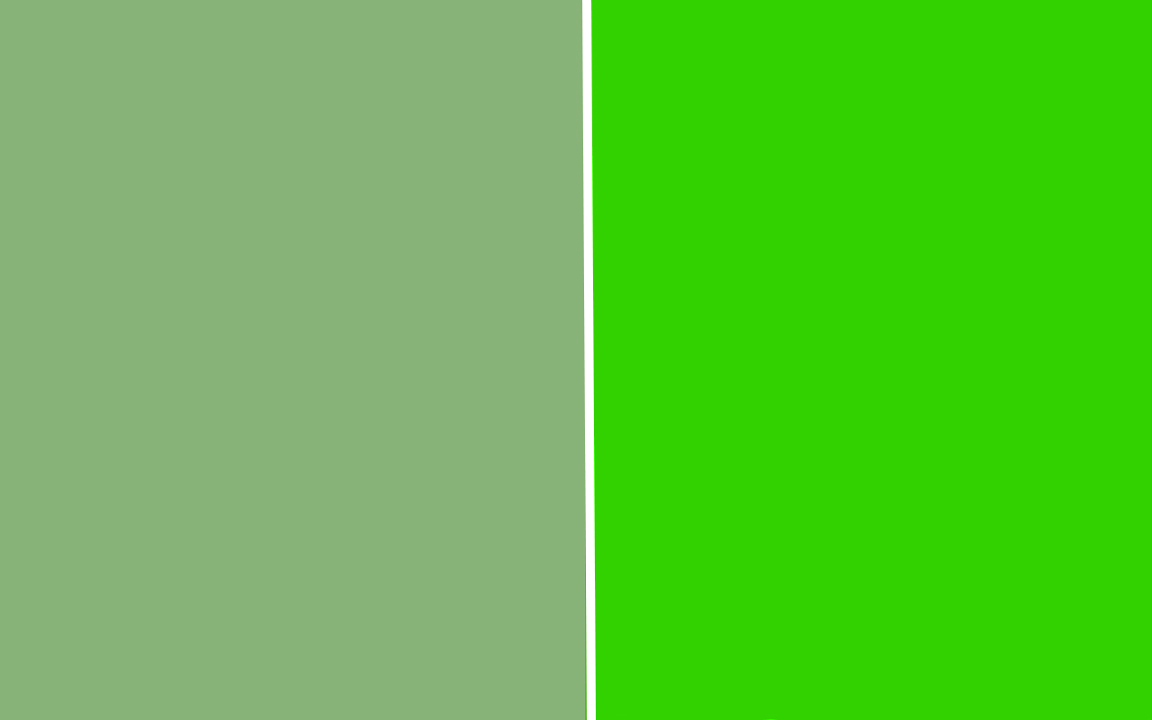 comparing sage green and kelly green