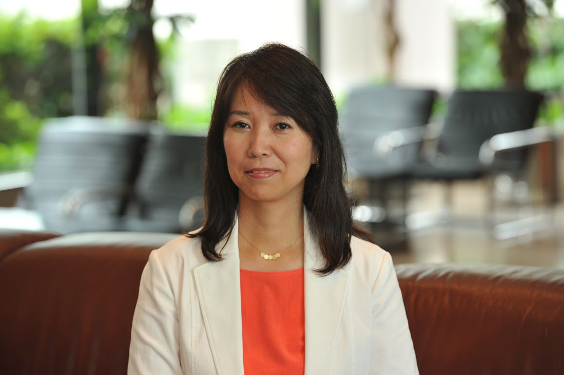 A headshot of Sayuri Daimon, executive operating officer at The Japan Times