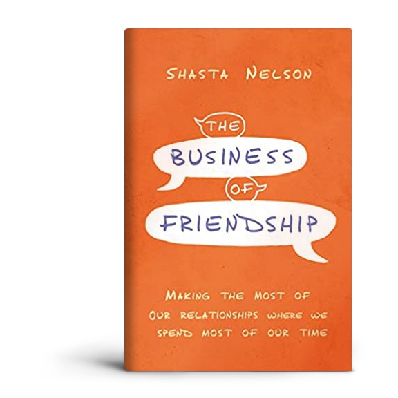 The cover of Shasta Nelson's book